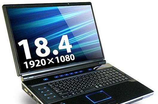 Lesance GSN801GAW gaming laptop packs 18.4-inch LCD, oodles of ugly and serious muscle