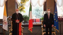 Draghi incontra Parolin e Bassetti: sintonia con la Chiesa