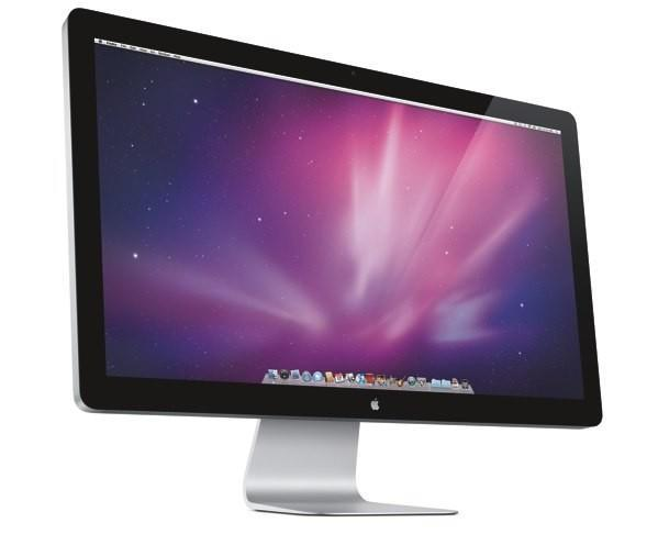 Apple Cinema Display goes to 27 inches, 16:9 aspect ratio