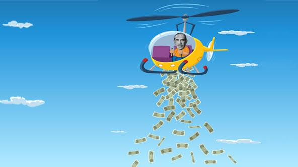 We May Need 'Helicopter Money' to Fight the Next Downturn: Report