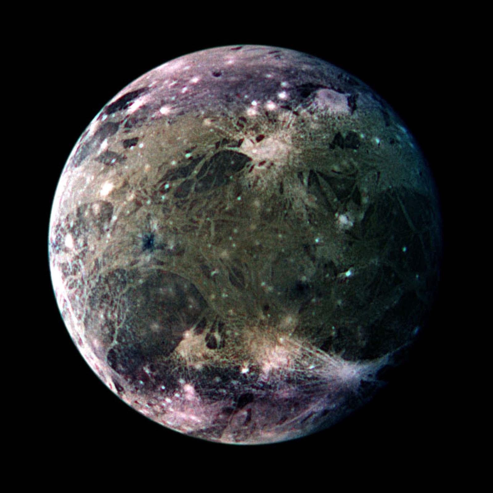 ganymede auroral belt shifting - HD1600×1600