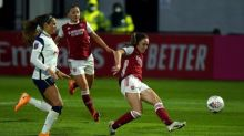 Lisa Evans powers Arsenal past Tottenham and into FA Cup semi-finals