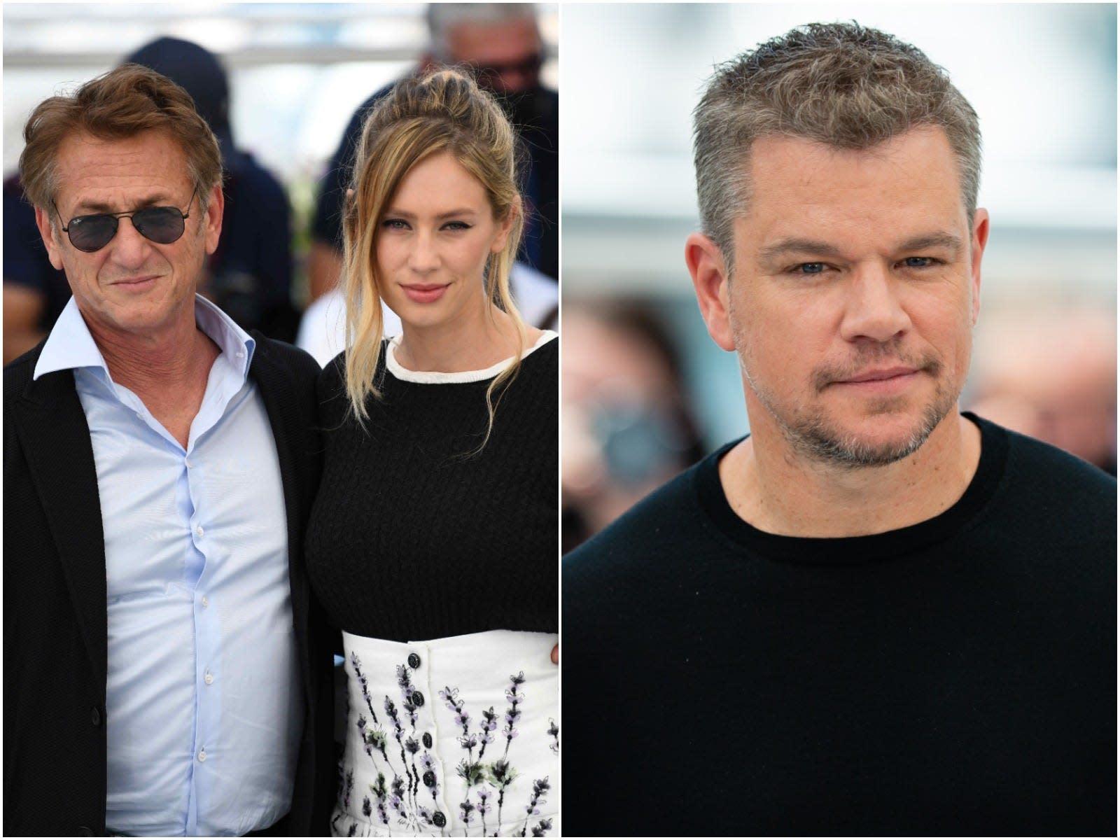 Sean Penn says Matt Damon calling him 'a stupid schmuck' convinced him to star opposite his daughter in new movie