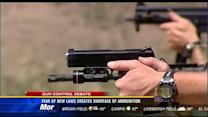 Fear of new laws creates shortage of ammunition