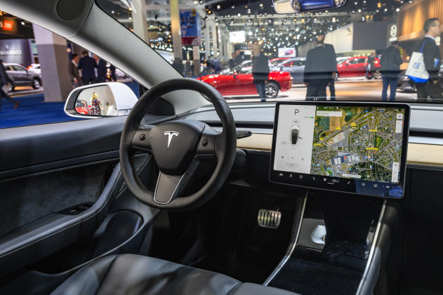 Elon Musk explains why Tesla's Model 3 has an in-cabin camera