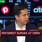 Watch CNBC's full interview with Pinterest CEO Ben Silbermann following the company's IPO