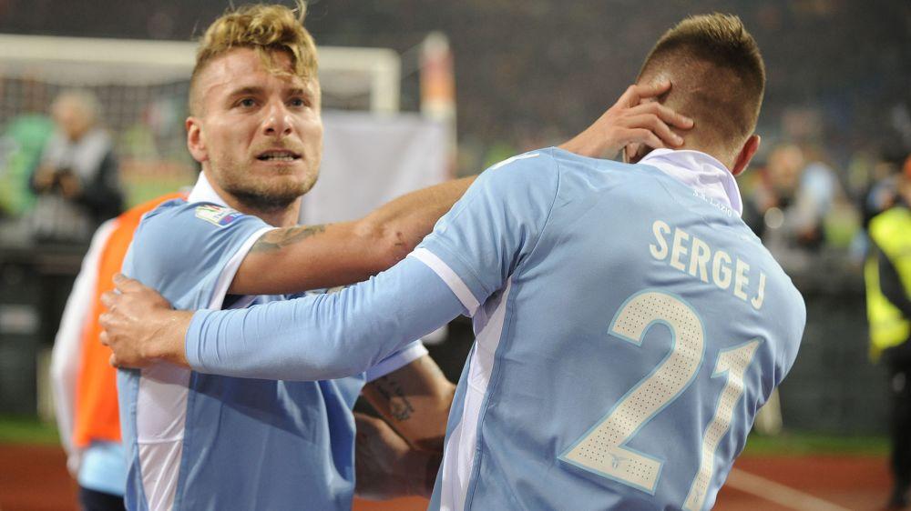Ancora la coppia Milinkovic-Immobile: la Lazio ha trovato i suoi leader