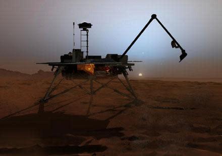 "Anthropomorphized Mars lander in terminal ""Groundhog Day"" mode, tugging heartstrings"