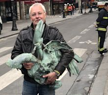 Notre-Dame's iconic rooster retrieved from rubble