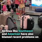 Hundreds of Spirit Airlines cancellations strands its passengers