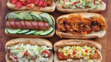 Stuff on Hot Dogs from'Good and Cheap'