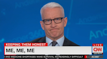 Anderson Cooper's blistering critique of Trump's 'completely pathetic' behavior at El Paso hospital