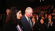 Charles describes Holocaust as 'universal human tragedy' at Israel event
