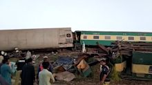 At least 38 people dead after two express trains crash in Pakistan