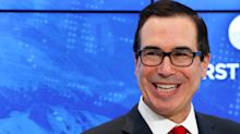 Secy. Mnuchin says Trump talks tough on Fed because inflation in check