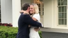 This Couple Got Engaged at the White House, Giving the Press Corps Something Happy to Cover