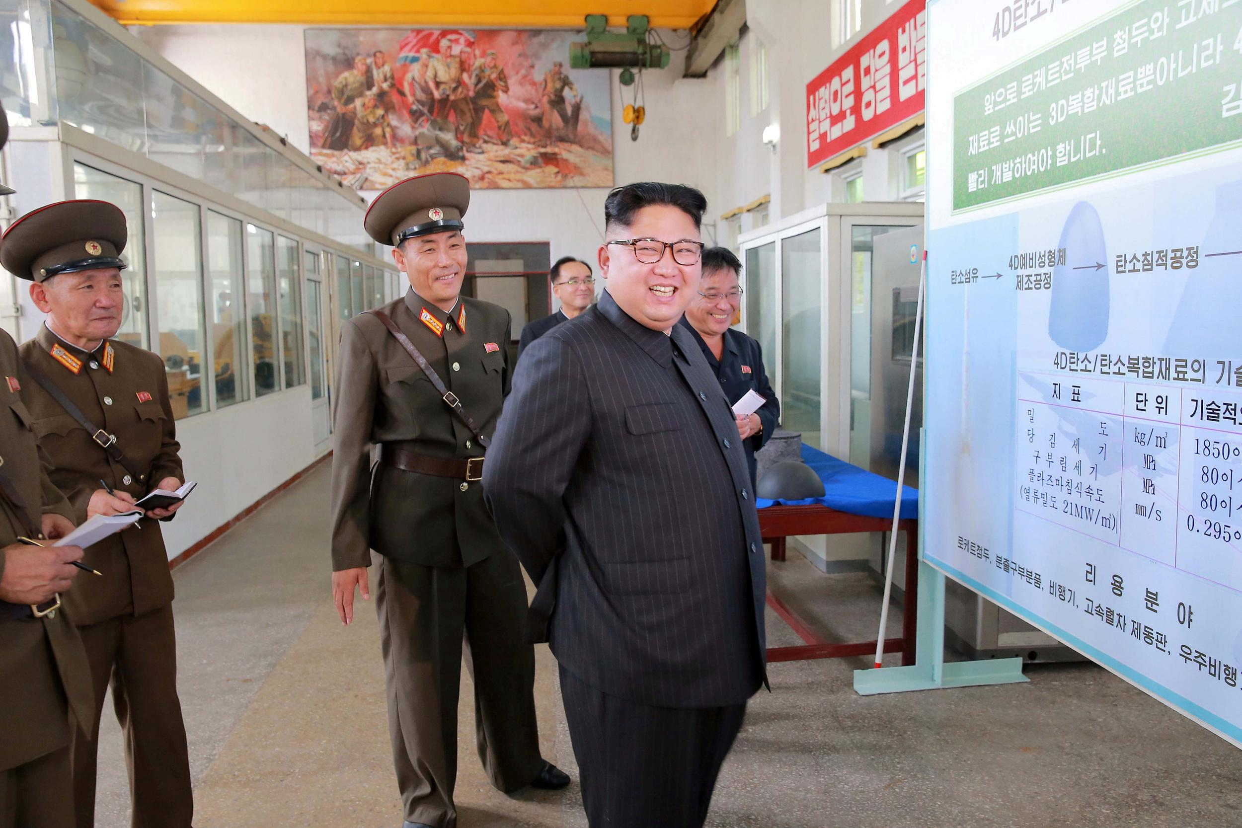 """<p><u><strong>NEW YEARS DAY MISSILE LAUNCH</strong></u></p>  <p>On January 1, 2017, North Korea's leader Kim Jong Un warned that anintercontinental ballistic missile (ICBM) was<a href=""""https://www.aol.com/article/news/2017/01/01/north-korea-kim-jong-un-says-an-intercontinental-ballistic-missile-in-final-stages/21645302/"""" target=""""_blank"""">in the 'final stages'</a>of development.</p>  <p>The nation said it could conduct a missile test-launch<a href=""""https://www.aol.com/article/news/2017/01/09/n-korea-says-can-test-launch-icbm-at-any-time/21650827/"""" target=""""_blank""""> 'anytime and anywhere'</a>.</p>  <p>On February 12, North Korea tested a<a href=""""https://www.aol.com/article/news/2017/02/11/north-korea-tests-ballistic-missile-does-not-appear-to-be-icbm/21712090/"""" target=""""_blank"""">ballistic missile,</a>but it didn't appear to be an ICBM due to its flight range.</p>"""