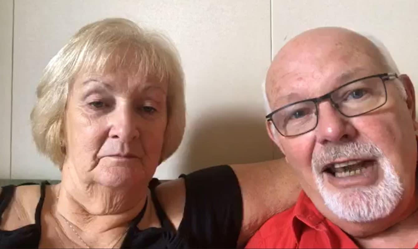 British couple in quarantine on board cruise ship 'test positive for coronavirus'