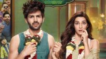 Luka Chuppi Poster: Kartik Aaryan-Kriti Sanon Dazzle In Rom-Com