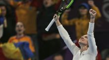 Halep sinks Svitolina to make Qatar final