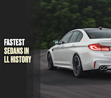The Fastest Sedans in Lightning Lap History