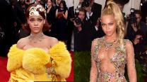 Rihanna vs Beyonce Gowns at Met Gala 2015