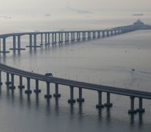 The World's Longest Sea Bridge, Connecting Hong Kong To Mainland China, Is Open