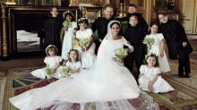 The Royal Wedding's most remarkable photo features 10 small kids actually sitting still