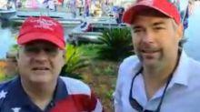 Organizers on pro-Trump boat parade setting sail