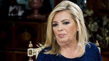 Carmen Borrego reaparece en televisión para mostrar su nuevo rostro tras la operación de papada
