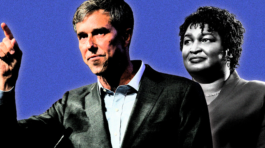 Why was Beto a national sensation but not Abrams?