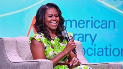 Michelle Obama strikes a pose in her bathrobe in Instagram pic