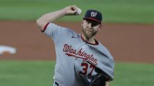Nationals RHP Strasburg leaves with injury after 16 pitches
