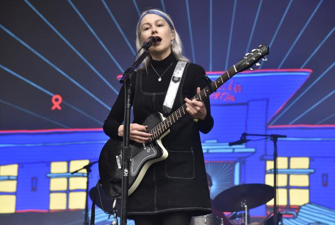 SAN FRANCISCO, CALIFORNIA - AUGUST 10:  Phoebe Bridgers of Better Oblivion Community Center performs during the 2019 Outside Lands festival at Golden Gate Park on August 10, 2019 in San Francisco, California. (Photo by Tim Mosenfelder/Getty Images)