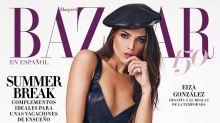 Eiza González engalana la portada de Baazar; así ha lucido en otras revistas