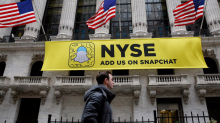Snap is popping after report says teens think it's cooler than Facebook