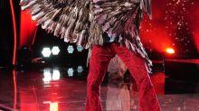The Eagle leaves the 'Masked Singer' nest: Latest celebrity castoff is TV doctor, talk show host