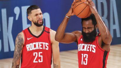 129-112. Austin Rivers anota 41 puntos, su mejor marca, y ganan los Rockets