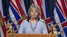 Coronavirus outbreak: B.C. records 53 new cases of COVID-19 and 1 death