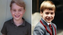 Prince George looks just like Prince William in seventh birthday photos