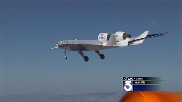 NASA Shows Off Unmanned Aircraft Systems at Edwards AFB