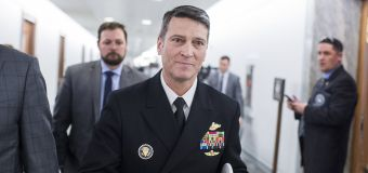 Ronny Jackson out of running for VA secretary