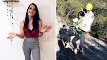 Woman recalls date abandoning her on mountain after being impaled