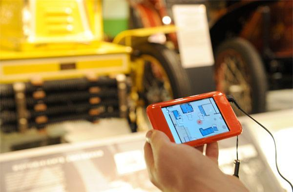 Fraunhofer IIS uses Awiloc indoor positioning magic to guide museum patrons
