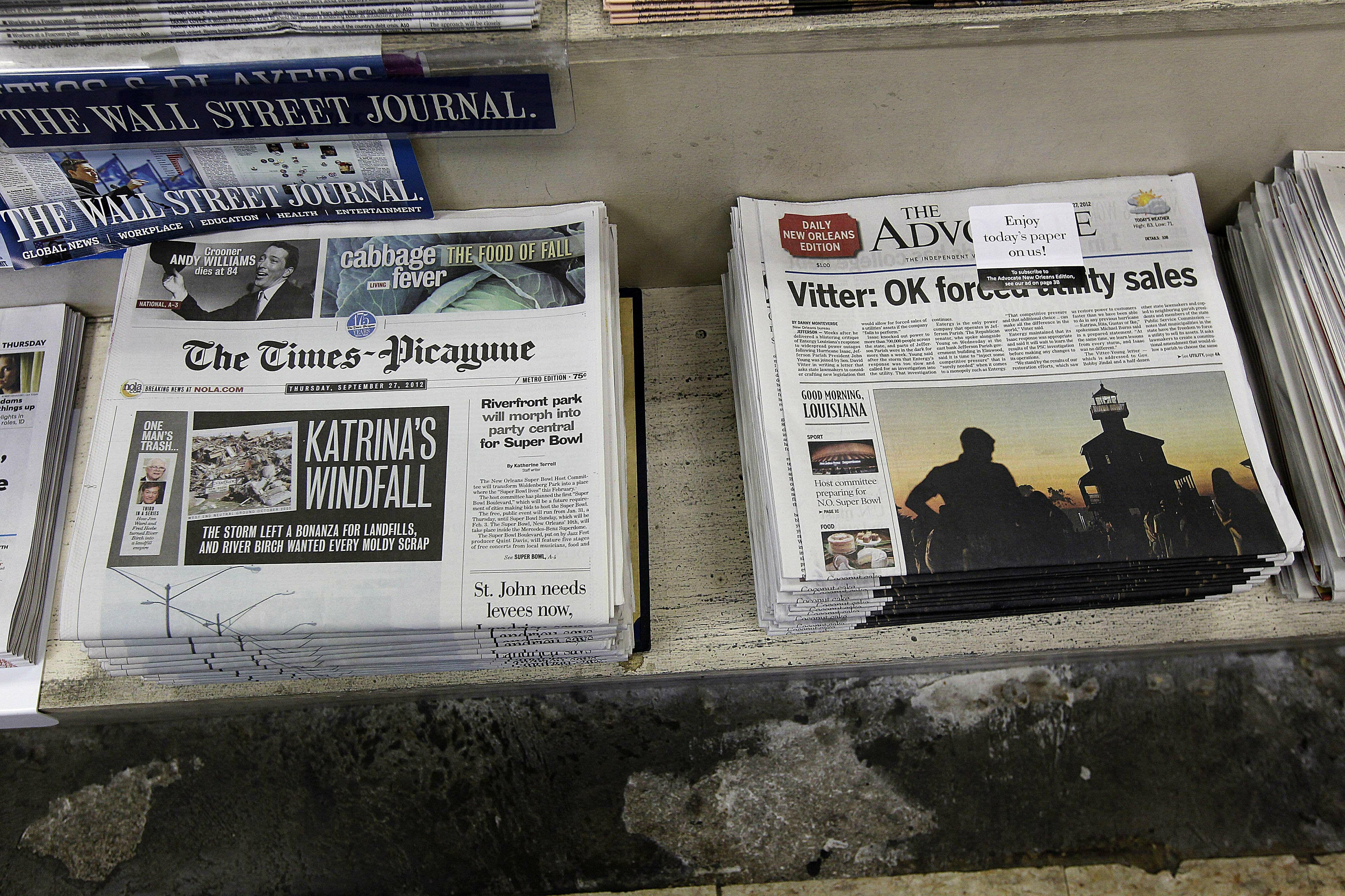 The Real Story Of New Orleans And Its >> Correction New Orleans Newspapers Story