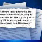 Mayor Lori Lightfoot writes open letter to Trump about why Chicago police won't assist in ICE raids