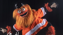 The Flyers officially unveil the NHL's best mascot