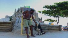 O rei de um castelo de areia