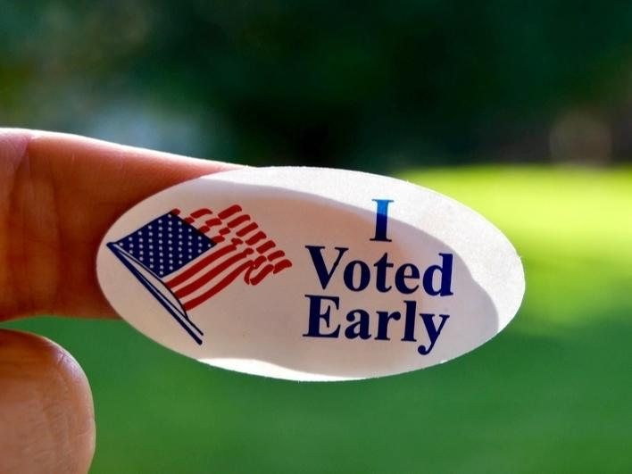 Early voting begins Oct. 12 in Georgia.
