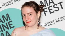 Lena Dunham Cuts Her Hair Super Short